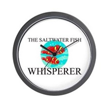 The Saltwater Fish Whisperer Wall Clock