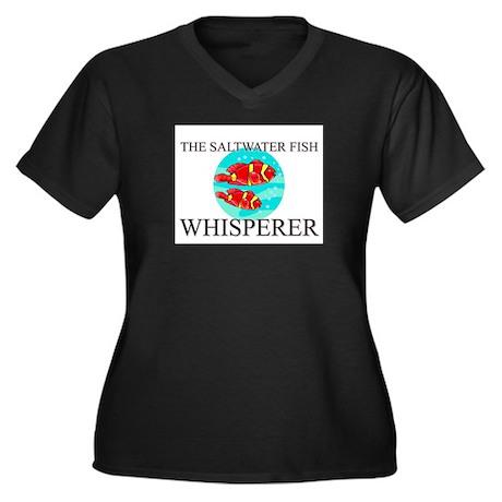 The Saltwater Fish Whisperer Women's Plus Size V-N