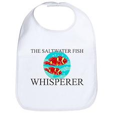 The Saltwater Fish Whisperer Bib