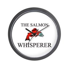 The Salmon Whisperer Wall Clock