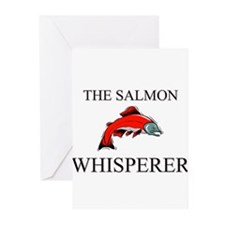 The Salmon Whisperer Greeting Cards (Pk of 10)