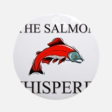 The Salmon Whisperer Ornament (Round)