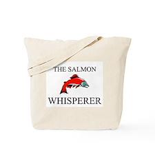 The Salmon Whisperer Tote Bag