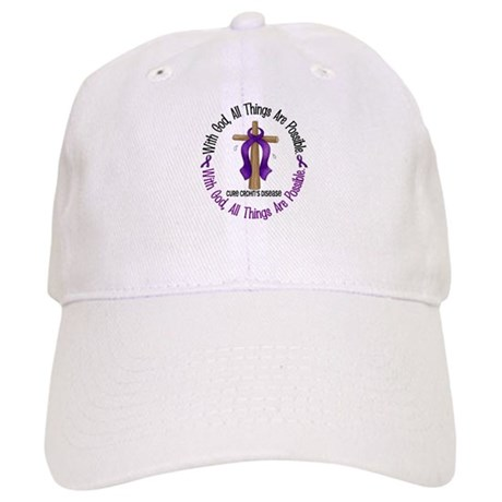With God Cross CROHN'S Cap