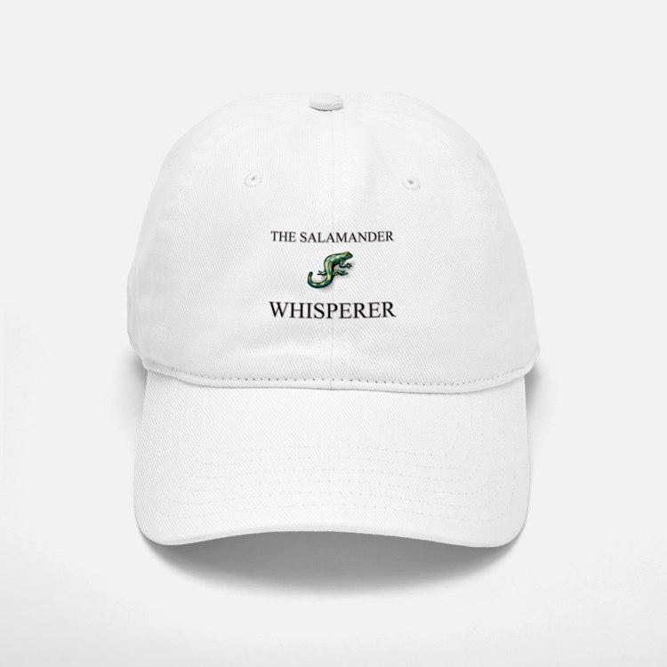 The Salamander Whisperer Baseball Baseball Cap