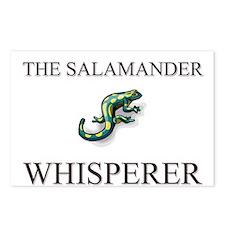 The Salamander Whisperer Postcards (Package of 8)