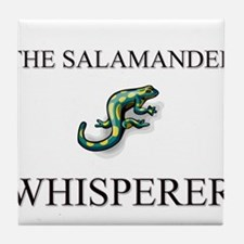 The Salamander Whisperer Tile Coaster