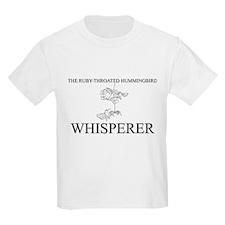The Ruby-Throated Hummingbird Whisperer T-Shirt