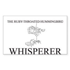 The Ruby-Throated Hummingbird Whisperer Decal