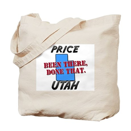 price utah - been there, done that Tote Bag
