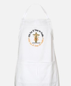 With God Cross ENDOCAN BBQ Apron