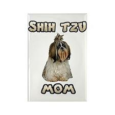 Shih Tzu Mom Rectangle Magnet