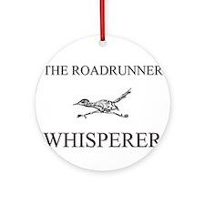 The Roadrunner Whisperer Ornament (Round)