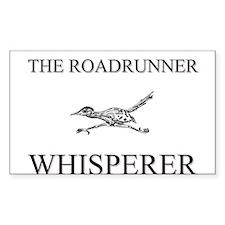 The Roadrunner Whisperer Rectangle Sticker