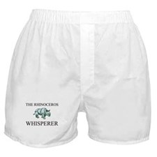 The Rhinoceros Whisperer Boxer Shorts
