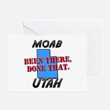 moab utah - been there, done that Greeting Card