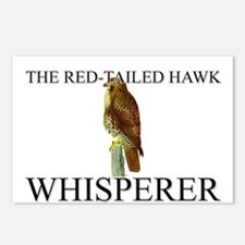 The Red-Tailed Hawk Whisperer Postcards (Package o