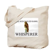 The Red-Tailed Hawk Whisperer Tote Bag