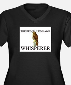 The Red-Tailed Hawk Whisperer Women's Plus Size V-