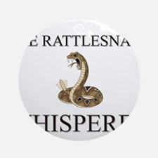 The Rattlesnake Whisperer Ornament (Round)