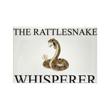 The Rattlesnake Whisperer Rectangle Magnet (10 pac