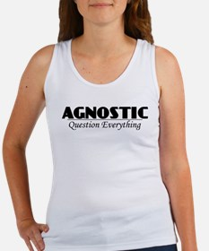 Agnostic Question Everything Women's Tank Top