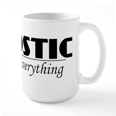 Agnostic Question Everything Large Mug