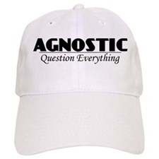 Agnostic Question Everything Baseball Cap