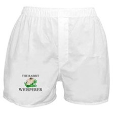 The Rabbit Whisperer Boxer Shorts