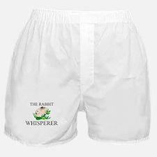The Rabbit Whisperer Boxer Shorts