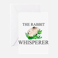 The Rabbit Whisperer Greeting Cards (Pk of 10)