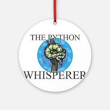 The Python Whisperer Ornament (Round)
