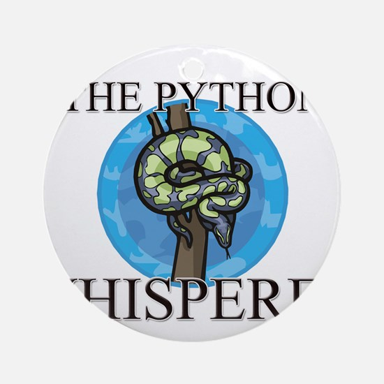 The Python Whisperer Ornament (Round)