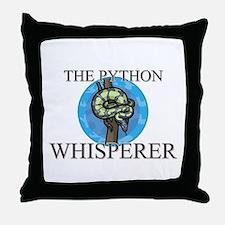 The Python Whisperer Throw Pillow