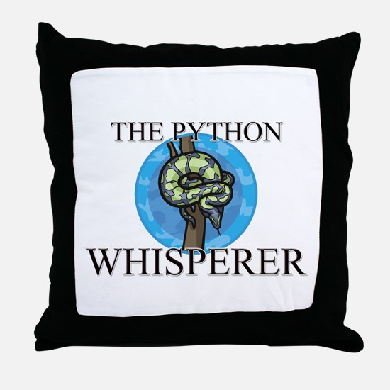 The Python Whisperer Throw Pillow