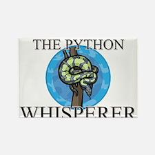 The Python Whisperer Rectangle Magnet