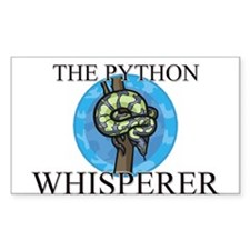 The Python Whisperer Rectangle Decal