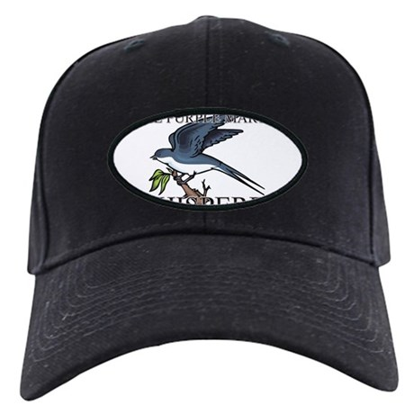 The Purple Martin Whisperer Black Cap