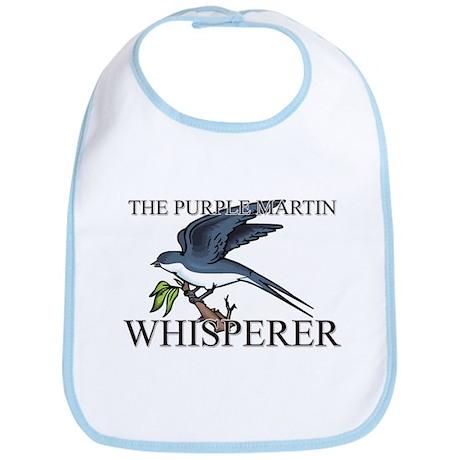 The Purple Martin Whisperer Bib