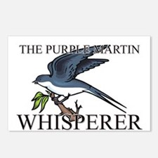 The Purple Martin Whisperer Postcards (Package of