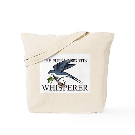The Purple Martin Whisperer Tote Bag
