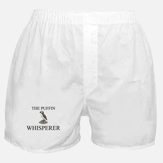 The Puffin Whisperer Boxer Shorts