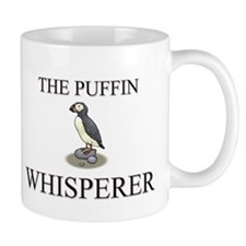 The Puffin Whisperer Small Mug