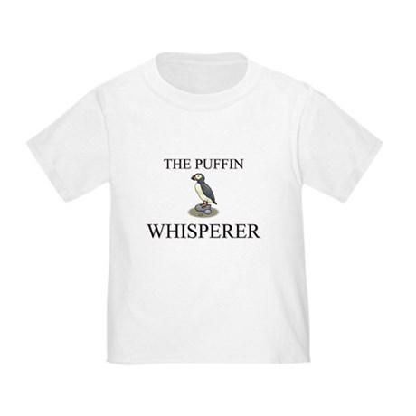 The Puffin Whisperer Toddler T-Shirt