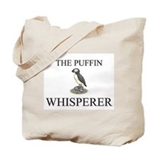 The Puffin Whisperer Tote Bag
