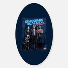 GOTG Group Stance Sticker (Oval)