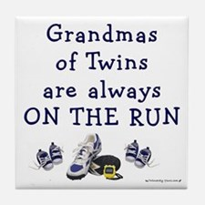 Grandmas on the Run Tile Coaster