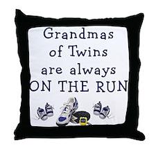 Grandmas on the Run Throw Pillow