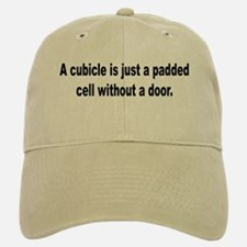 Padded Cell Cubicle Humor Baseball Baseball Cap