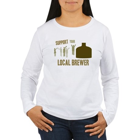 Support Your Local Brewer Women's Long Sleeve T-Sh